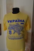 """Футболка """"карта Украины"""" 02"""